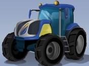 Futuristic Tractor Racing